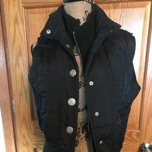 Women's Maurice's black vest